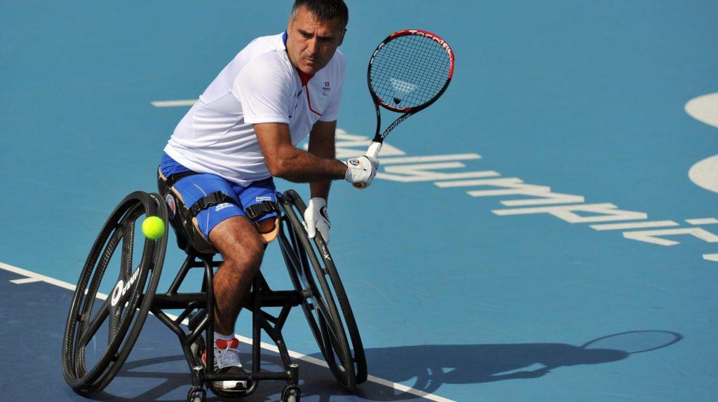 Stephane Houdet Wheelchair Tennis