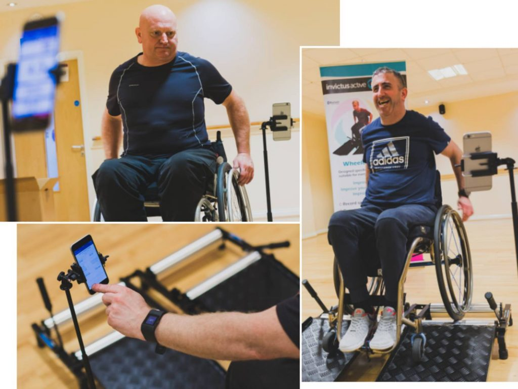 How to stay fit in a wheelchair