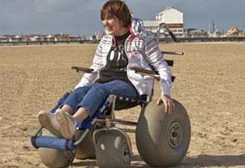 Wheelchair accessible beaches