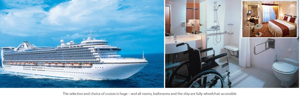 Adapted Disabled Wheelchair Rooms, Disabled Cruise.