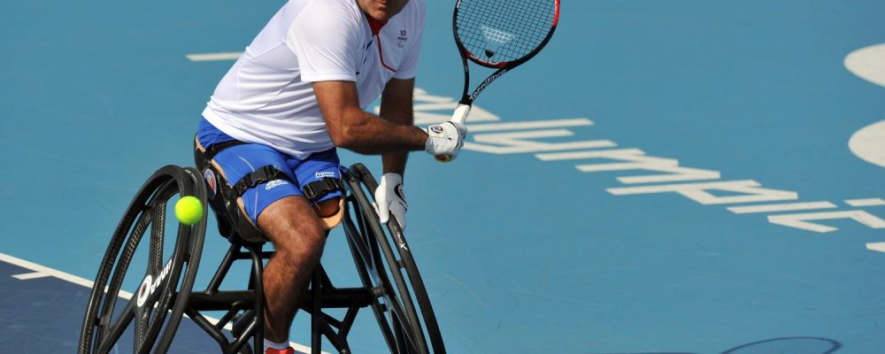 Able Bodied – playing wheelchair tennis?