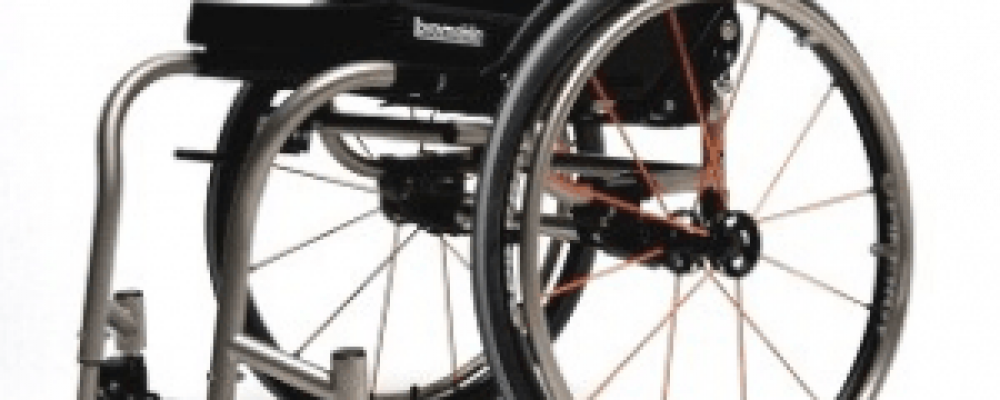 Bespoke manual wheelchairs active user