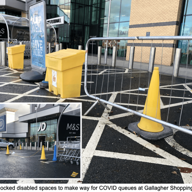 Wheelchair access and disabled rights gone 'out the window' due to COVID… outrageous?!