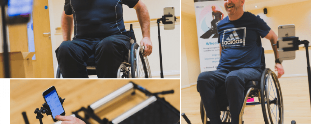 Fitness equipment for wheelchair users