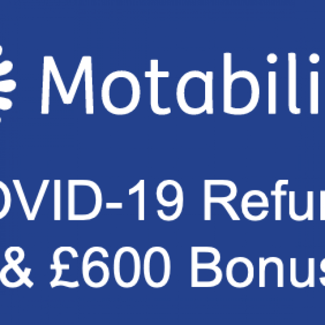 Latest: Motability offering refund & bonus money