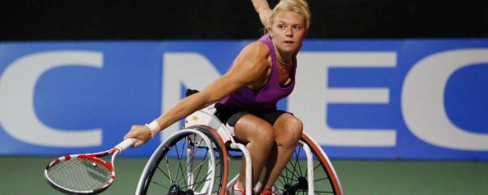 Playing wheelchair sport