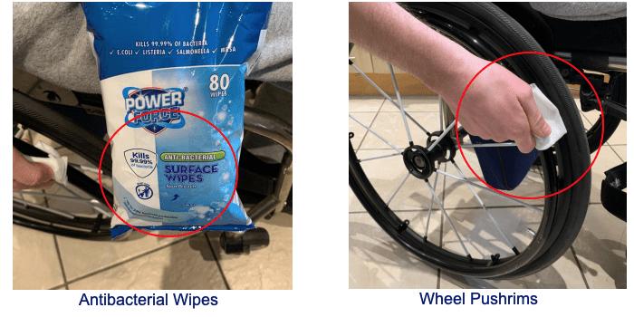 Clean Wheelchair Coronavirus