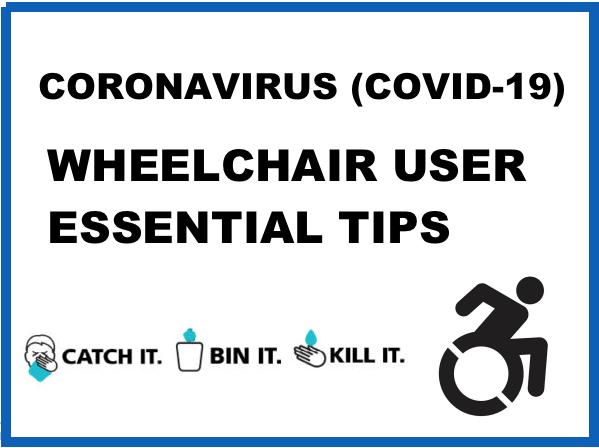 Wheelchair users Coronavirus