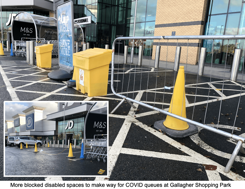 Covid 19 wheelchair access