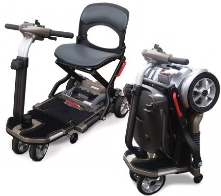 Folding disability scooters.