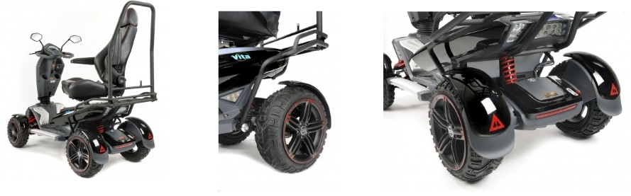 Heavy duty off road scooter.