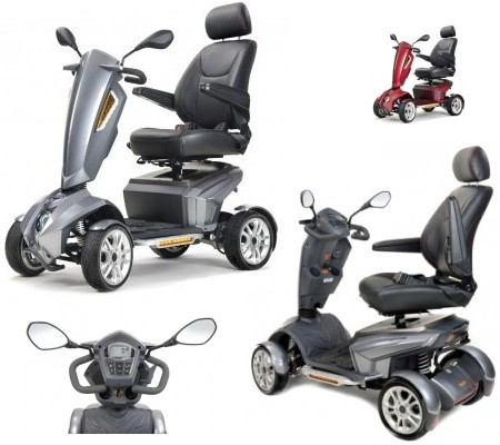 Medium sized mobility scooter.