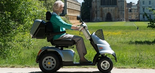 Mobility scooter for long distance.