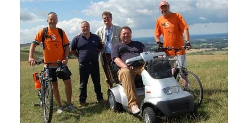 TGA Breeze mobility scooter