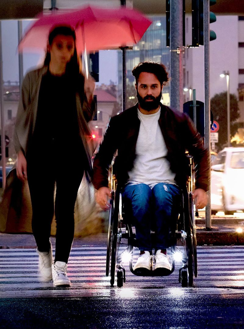 Quickie Nitrum Wheelchair Photo
