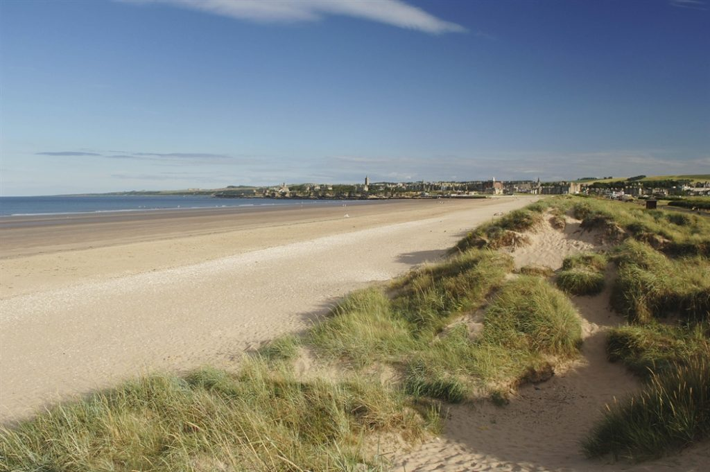 st andrew west sands beach
