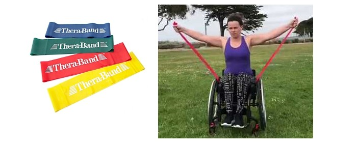 therabands wheelchair