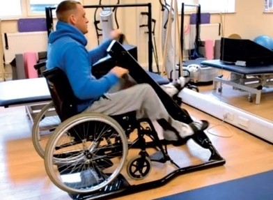 Use the YouBike from your wheelchair.