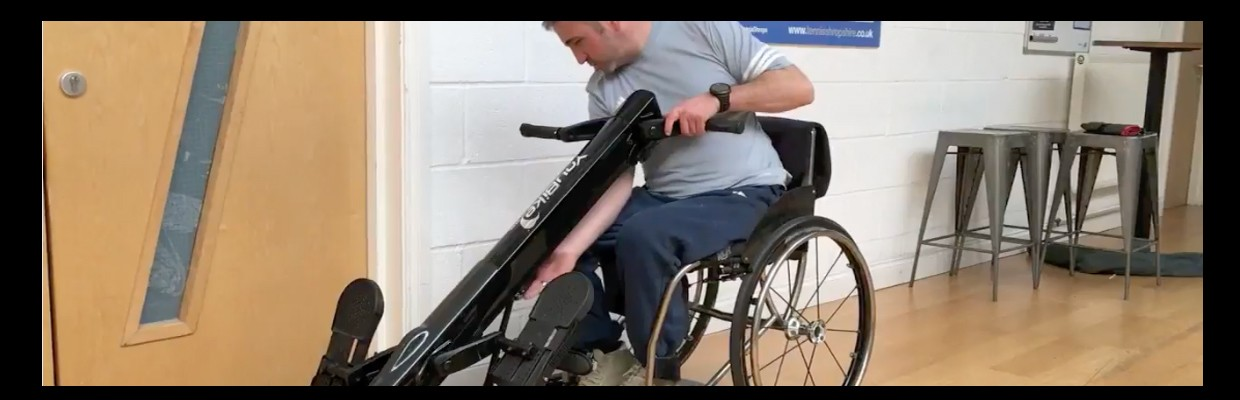 Wheelchair Sitting Exercise Bike The Accessible Planet